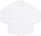 Il Gufo Palm-Tree-Print Cotton Shirt