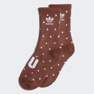 adidas Pharrell Williams Premium Basic Crew Socks (Dark Purple)