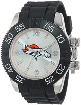 Game Time Men's NFL-BEA-DEN Beast Round Analog Watch