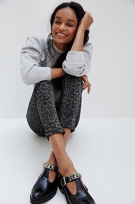 Sanctuary Runway Shimmer Leopard Leggings By in Silver Size XS