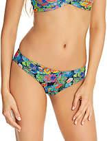 Freya Island Girl Bikini Briefs, Black/Multi