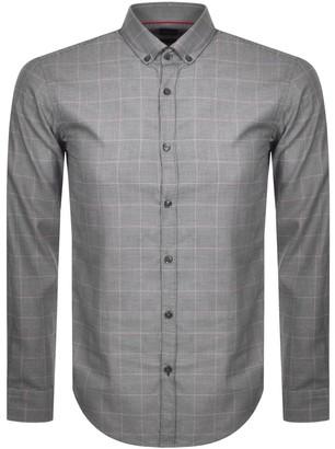 Boss Business BOSS HUGO BOSS Slim Fit Rikard Shirt Black