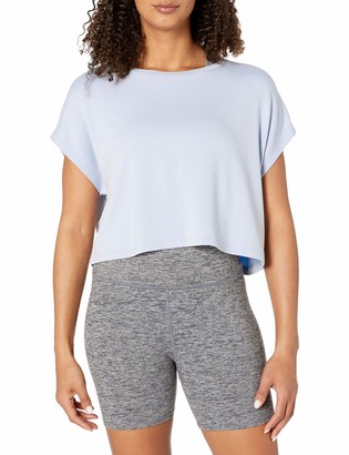 Core Products Core 10 Women's Standard Soft French Terry Cropped Sleeveless Yoga Sweatshirt