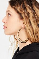 Urban Outfitters Bamboo Hoop Earring