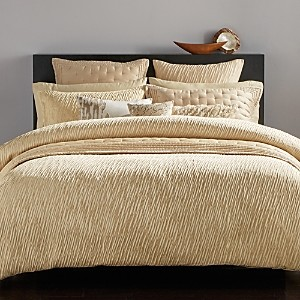 Donna Karan Gold Dust Collection Duvet Cover, Full/Queen