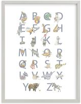 Pottery Barn Kids The Animalphabet Wall Art by Minted(R) 11x14
