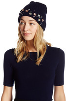 Natasha Accessories Large Faux Gem Cuff Beanie