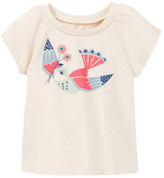 Tea Collection Pajaro Graphic Tee (Baby Girls)