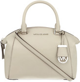 MICHAEL Michael Kors Riley small leather satchel