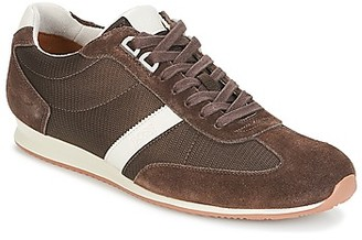 HUGO BOSS ORLANDO LOW PROFILE men's Shoes (Trainers) in Brown