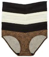 Warner's Womens No Pinching. No Problem. Hipster 3-Pack Style-5609J3