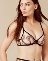 Agent Provocateur Bailey Bra Nude And Black