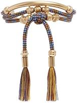 Chloé 'Otis Rope' bar and cord tassel bracelet