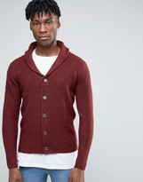 ONLY & SONS Shawl Neck Cardigan with Mix Yarn Detail