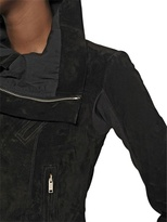 Rick Owens Peccary Leather Biker Jacket