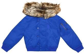 Polo Ralph Lauren Kids Cotton-blend down jacket