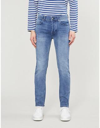 BOSS Slim-fit stretch-denim jeans