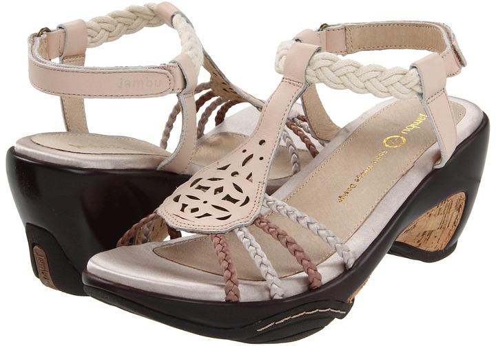 Jambu Petal (Soft Peach Vachetta Leather) - Footwear