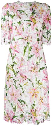 Dolce & Gabbana short floral dress