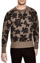 Todd Snyder + Champion Floral Print Sweatshirt