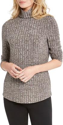 Nic+Zoe Champion Rib Turtleneck Sweater