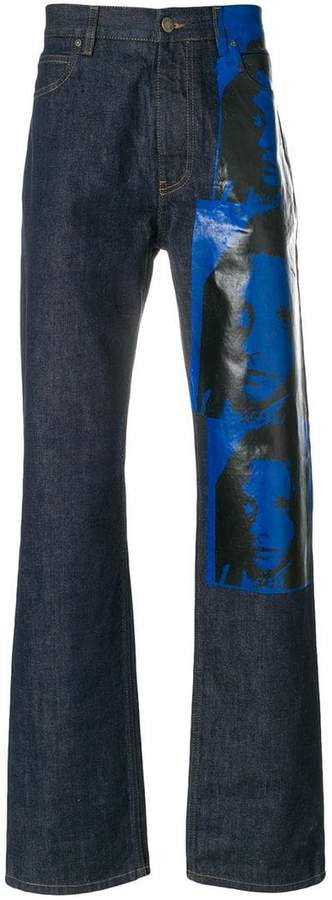 Calvin Klein x Andy Warhol Foundation Sandra Brant jeans