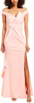 Kalinnu Off-The-Shoulder Gown