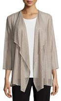 Caroline Rose Inner Circle Lace Cardigan, Plus Size