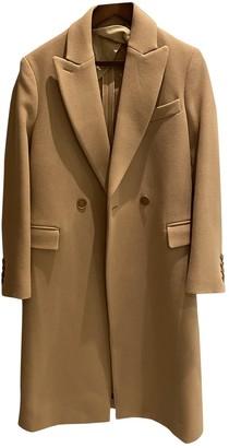 Stella McCartney Stella Mc Cartney Beige Wool Coat for Women