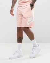 Nike Gx1 Jersey Shorts In Pink 836277-876