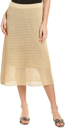 Vince Crochet Midi Skirt
