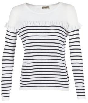 Betty London HOMI women's Sweater in White