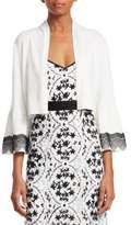 Nanette Lepore Shrug Bell-Sleeve Sweater