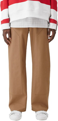 Burberry Twill Workwear Pants