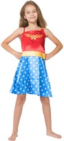 Intimo Wonder Woman One Shoulder Costume Nightgown (Little Girls & Big Girls)