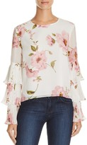 Lucy Paris Tiered Sleeve Top - 100% Exclusive