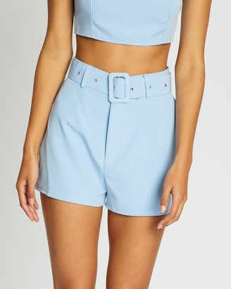 Missguided Co-Ord Belted Shorts
