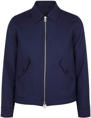 J. Lindeberg Dolph Navy Wool-twill Jacket