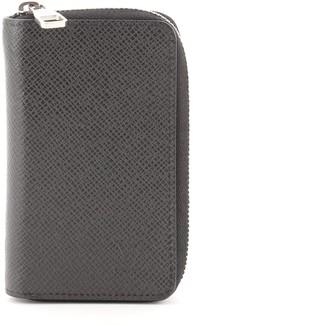 Louis Vuitton Zippy Coin Purse Taiga Leather Vertical