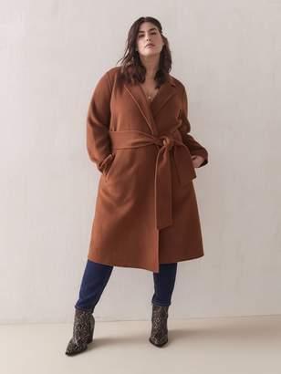 Joie Tie-Front Wool Coat - Sosken