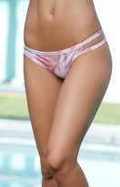 La Hearts Sporty Strappy Cheeky Bikini Bottom
