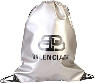 Balenciaga Logo Printed Drawstring Backpack