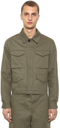 Alexander McQueen Cover Cotton Gabardine Jacket