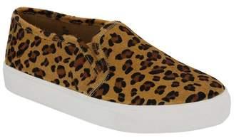 Mia Yulia Leopard Print Genuine Calf Hair Sneaker
