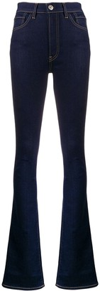 3x1 Bell-Bottom Skinny Jeans