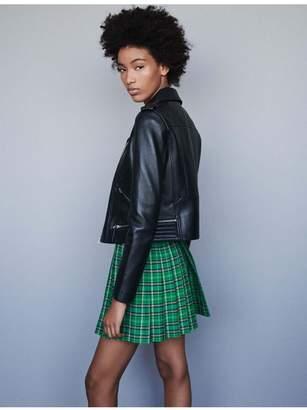 Maje Lambskin Leather Jacket