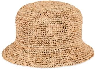 Gucci Raffia hat