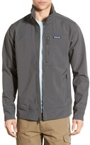 Patagonia Men's 'Sidesend' Regular Fit Water Repellent Jacket