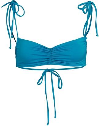 Frankie's Bikinis Foxy Tie Strap Bikini Top
