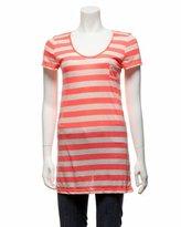 2b Striped Short Sleeve Pocket Tee